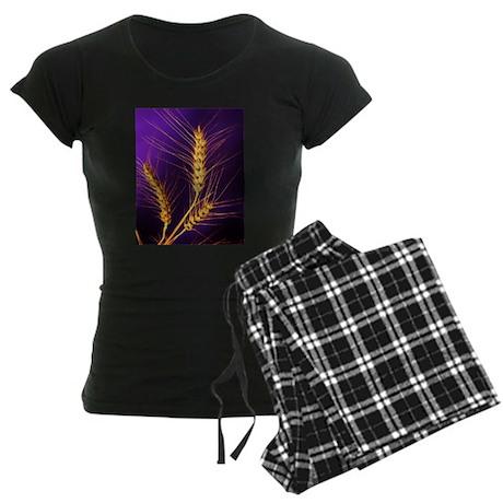 Kansas Wheat Women's Dark Pajamas