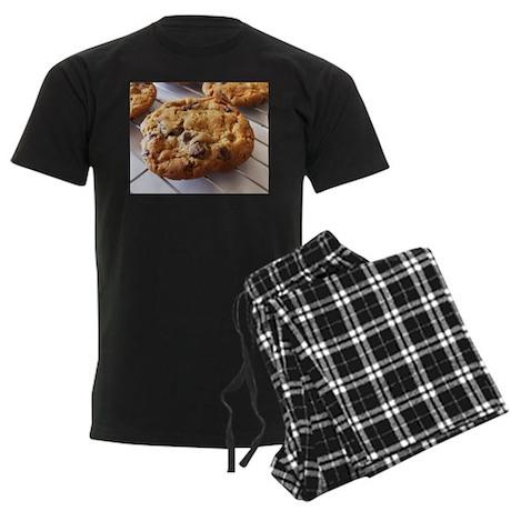 Chocolate Chip Cookies Men's Dark Pajamas