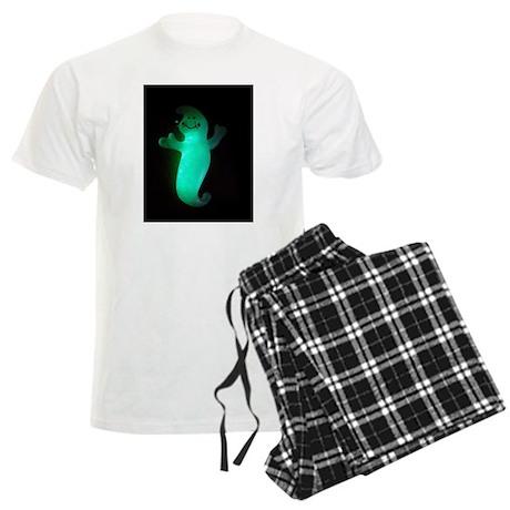 Glowing Ghost Men's Light Pajamas