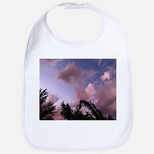 Pink Clouds Bib