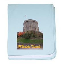 Windsor Castle baby blanket
