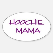 Hoochie Oval Decal