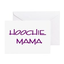 Hoochie  Greeting Cards (Pk of 10)