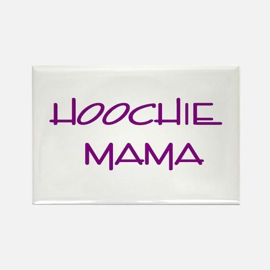 Hoochie Rectangle Magnet