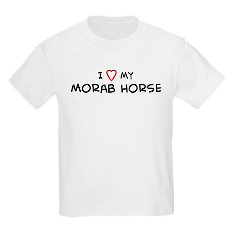 I Love Morab Horse Kids T-Shirt