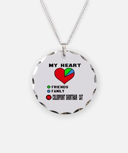 My Heart Friends Family Colo Necklace