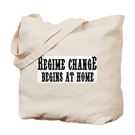 Regime ChangeTote Bag