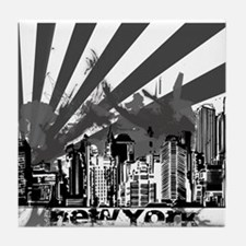 New York Style Tile Coaster
