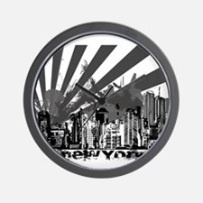 New York Style Wall Clock