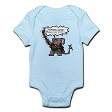 Colored mouseling Infant Bodysuit