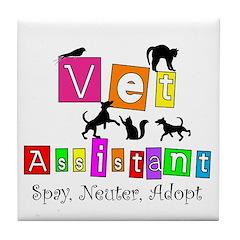 Cat Lovers/Veterinary Tile Coaster