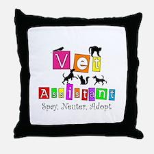 Cat Lovers/Veterinary Throw Pillow