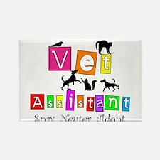 Cat Lovers/Veterinary Rectangle Magnet