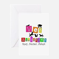 Cat Lovers/Veterinary Greeting Card