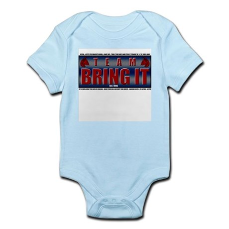 TEAM BRING IT V2 Infant Bodysuit