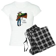 Horse & Girl Western Pajamas