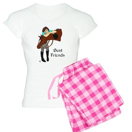 English horse & Girl Pajamas
