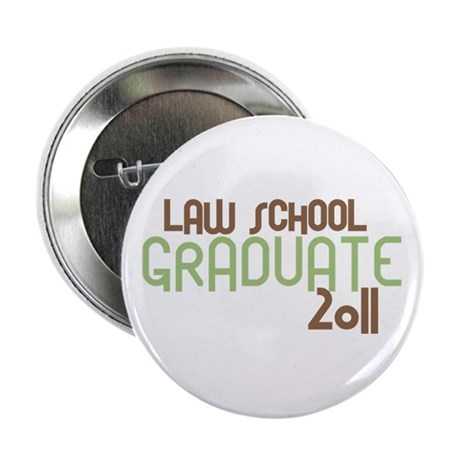 """Law School Graduate 2011 (Retro Green) 2.25"""" Butto"""