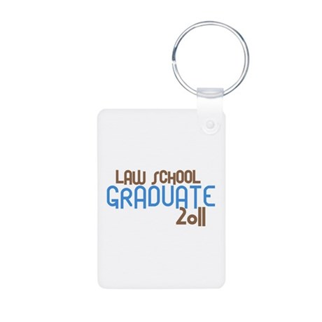Law School Graduate 2011 (Retro Blue) Aluminum Pho