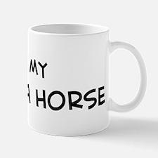 I Love Messara Horse  Mug