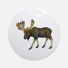 MOOSE Round Ornament