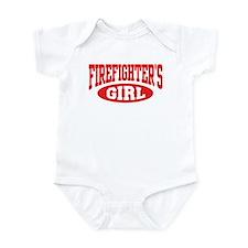 Firefighter's Girl Infant Creeper