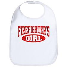 Firefighter's Girl Bib