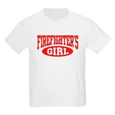 Firefighter's Girl Kids T-Shirt