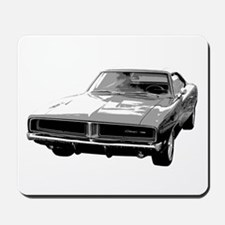 69 Charger Mousepad