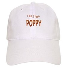 OLD HIPPIE POPPY Baseball Cap