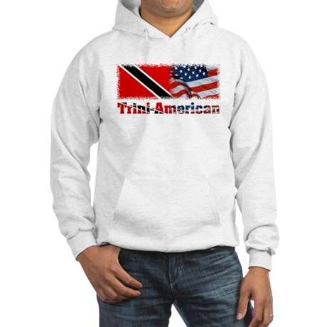 Trini-American Hooded Sweatshirt