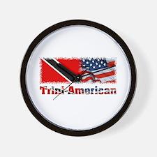 Trini-American Wall Clock