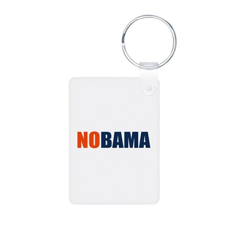 NoBama Aluminum Photo Keychain