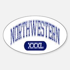 Northwestern Decal