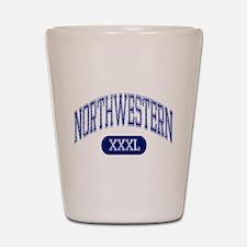 Northwestern Shot Glass