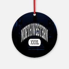 Northwestern Ornament (Round)