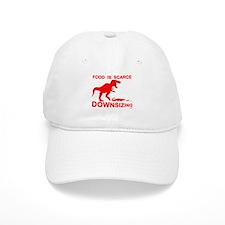 Food is scarce, downsizing Baseball Cap