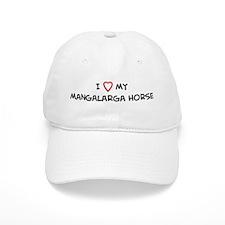 I Love Mangalarga Horse Baseball Cap