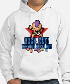 Rock Out Blocks Out Hoodie