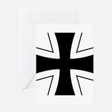 Germany Roundel Greeting Cards (Pk of 20)