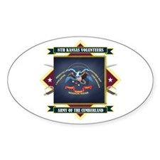8th Kansas Volunteer Infantry Decal