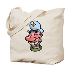 Cap'n Bucky Tote Bag