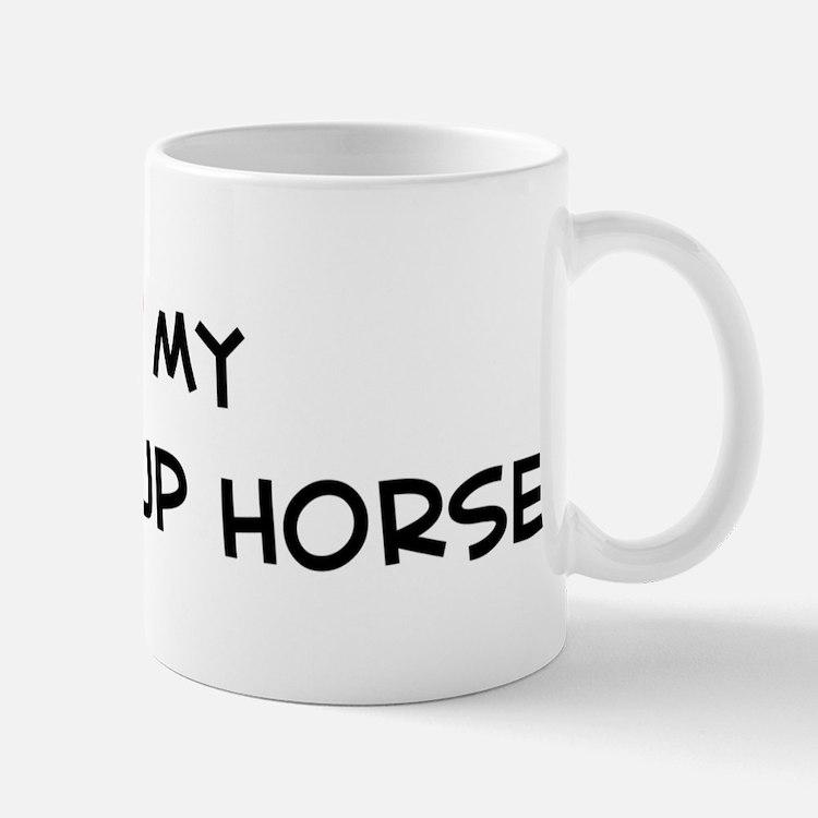 I Love Knabstrup Horse Mug