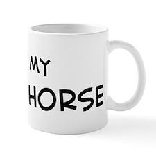 I Love Kinsky Horse Mug