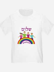 Rainbow Pink Shalom T