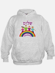 Rainbow Pink Shalom Hoodie
