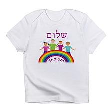 Rainbow Pink Shalom Infant T-Shirt