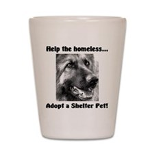 Help The Homeless Shot Glass