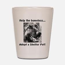 Help The Homeless Shot Glass