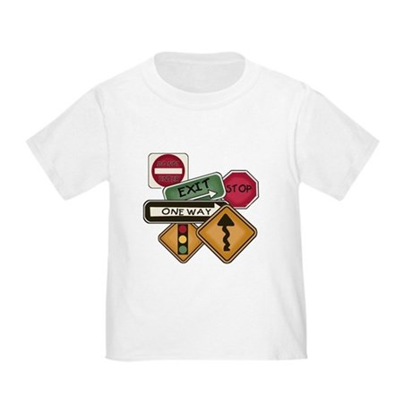 Road Signs Toddler T-Shirt